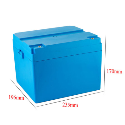 2000 Life Cycle LiFePO4 12V 50ah Battery with LED Power Display DC5521 Port 12V 100ah Battery