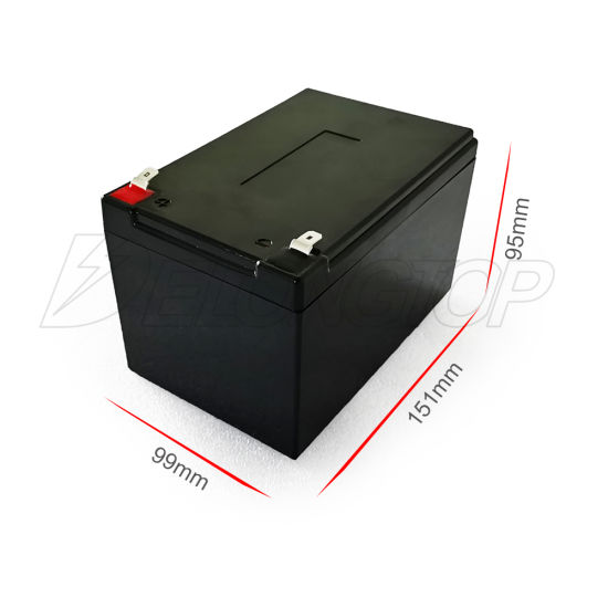 Deep Cycle 12.8V Solar Battery 12V 12ah LiFePO4 Li Battery for Solar Energy Storage