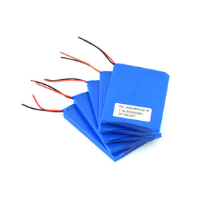 Rechargeable Lithium Polymer 7.4V 3000mAh Battery for Digital Products