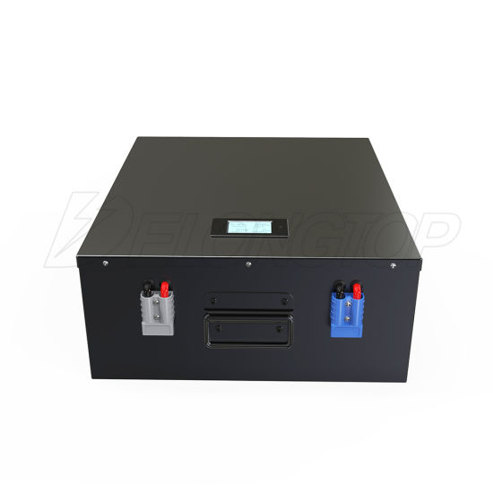 China Rechargeable Lithium LiFePO4 Battery Pack 24V 200ah for EV Agv Solar