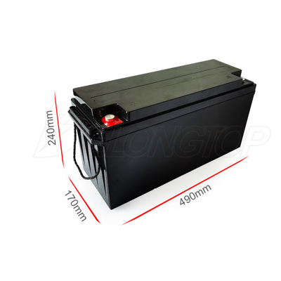Deep Cycle Rechargeable Lithium Ion LiFePO4 12V 100ah 150ah 200ah 300ah Lithium Battery