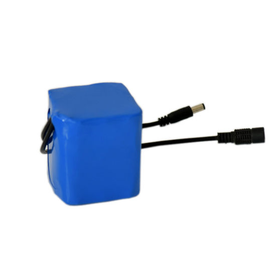 3s3p Rechargeable Lithium 18650 Battery Pack 12V with BMS