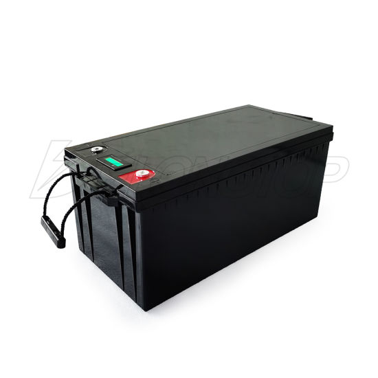 Deep Cycle 12V/200ah Lithium Solar/Car LiFePO4 Storage Battery Pack for Electric Vehicle Bicycle RV