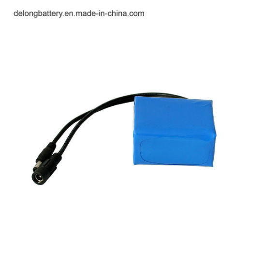 12V 18650 Li Ion 4000mAh Rechargeable Lithium Battery Pack
