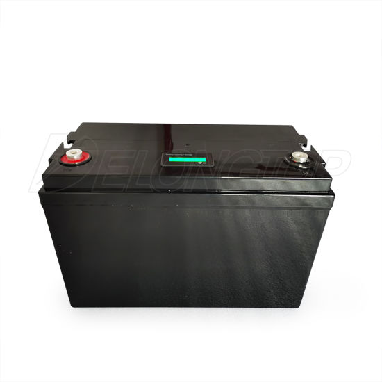 MSDS Certification BMS Built-in Long Life RV 12V 100ah Deep Cycle Lithium Ion Batteries LiFePO4 Battery Pack
