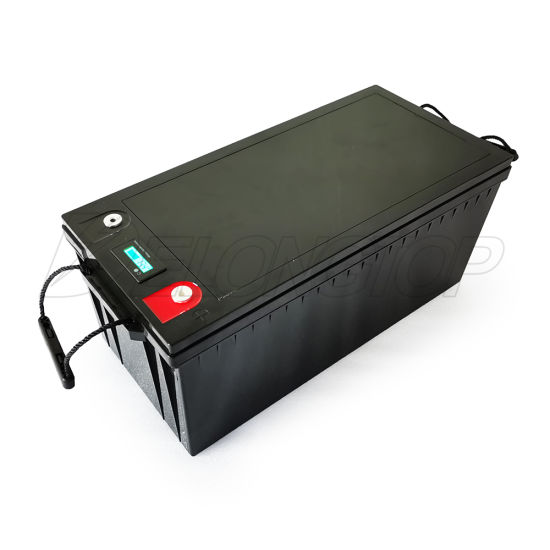 12V Rechargeable Prismatic Cell 200ah Deep Cycle LiFePO4 Lithium Ion Battery Solar