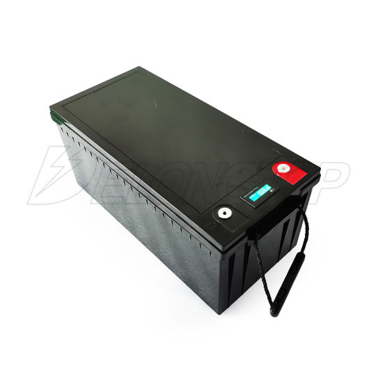 Wholesale Deep Cycle LiFePO4 12V 200ah Lithium Iron Phosphate Battery Pack for RV Solar Marine