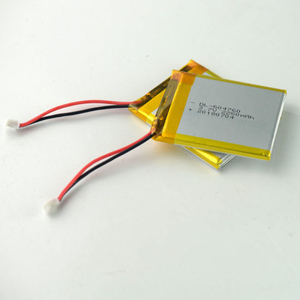 Rechargeable 604760 3.7V 2250mAh Lipo Battery Pack for Digital Products