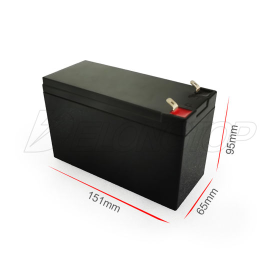Ce MSDS Approved Deep Cycle Lithium LiFePO4 12V 8ah 10ah Motorcycle Scooter Battery