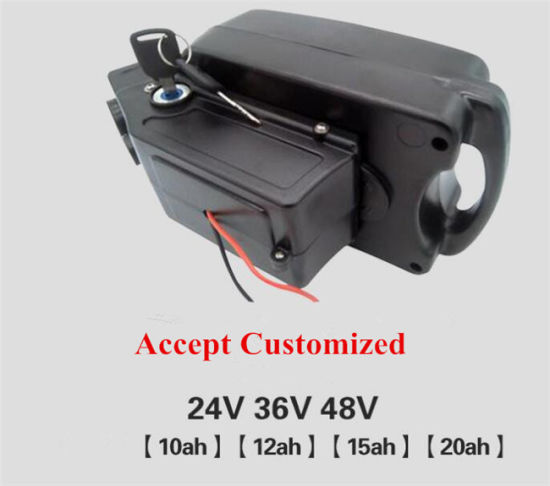 Factory Price Ebike Battery 24V 18ah Lithium Ion Battery Pack for Electric Bicycle Scooter