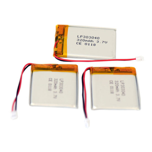 Rechargeable 303040 3.7V 320mAh Lipo Battery