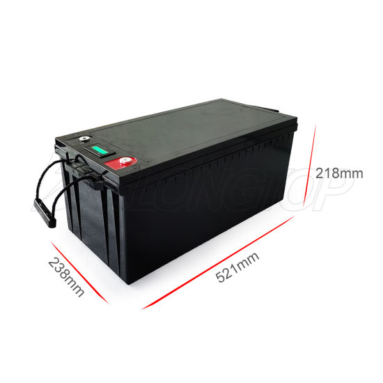Deep Cycle 200ah Solar Storage Battery Pack UPS 12V Lithium Ion Batteries Vs Gel AGM Battery